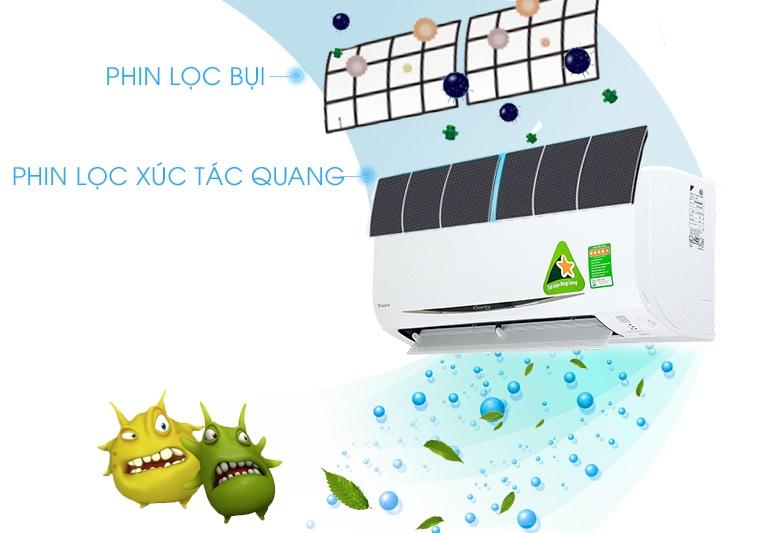 Máy lạnh Daikin 2.0 Hp Inverter FTKC50TVMV - Máy lạnh Inverter