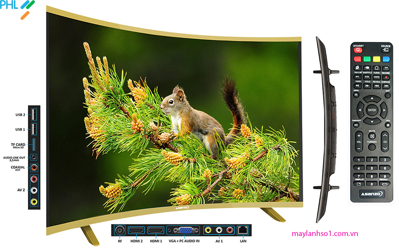Smart Tivi Asanzo 50Inch 50CS6000