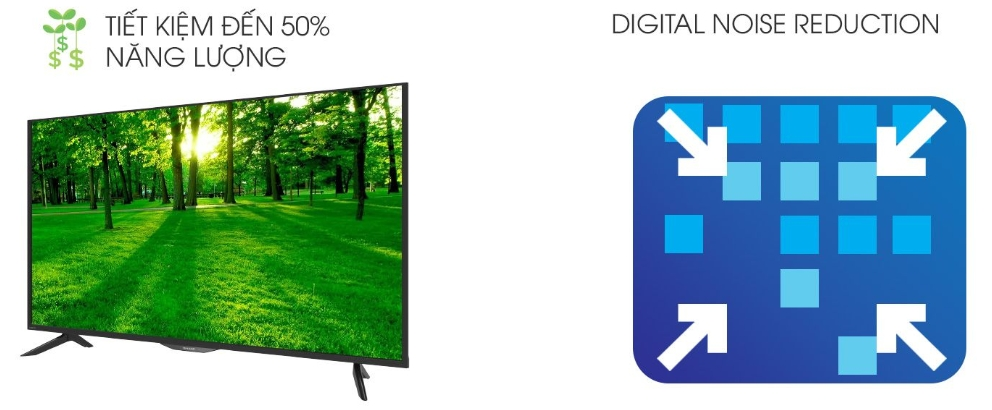 Smart Tivi Sharp 50Inch LC-50SA5500X