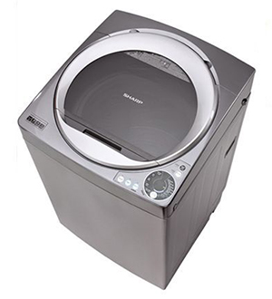 Máy giặt cửa trên Sharp 9.5KG ES-U95HV