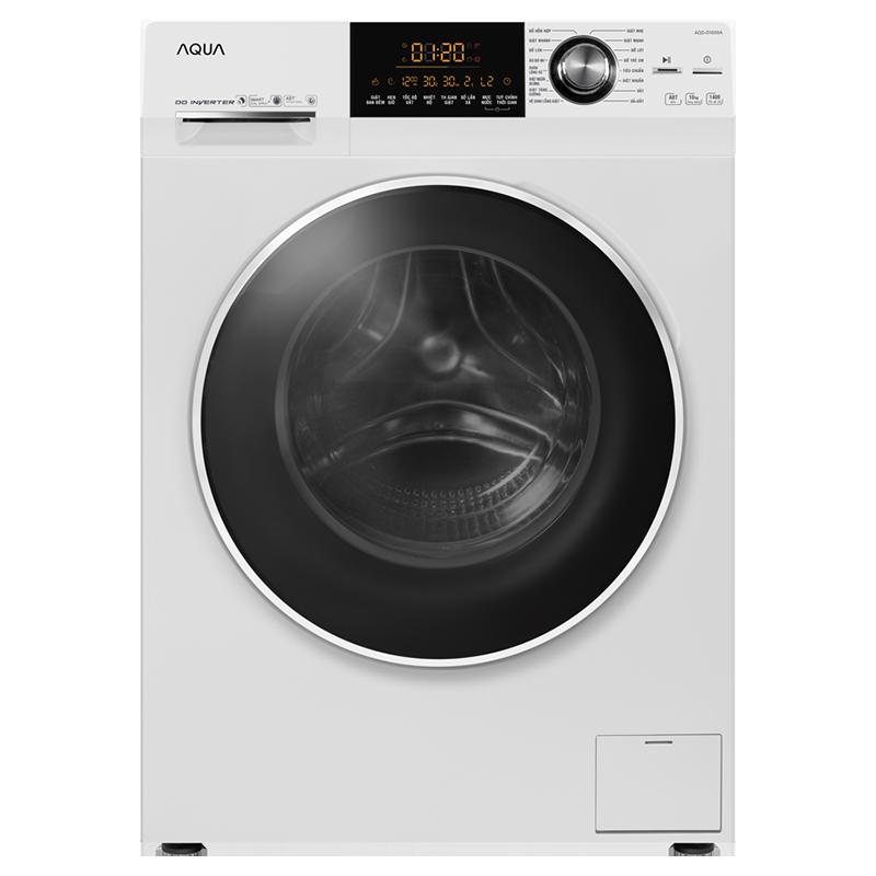 Máy giặt lồng ngang Aqua inverter 10kg D1000A