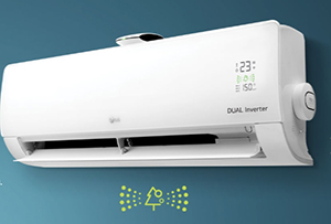 Máy lạnh LG 1.0Hp Inverter V10APF