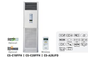 Máy lạnh tủ đứng Panasonic 3.0HP C28FFH