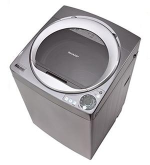 Máy giặt cửa trên Sharp 10.2KG ES-U102HV