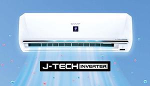 Máy lạnh Sharp 1.5HP Inverter AH-XP13WHW