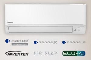 Máy lạnh tiết kiệm điện 1.0 ngựa Panasonic CU/CS-XPU9WKH-8