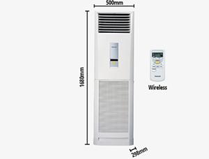 Máy lạnh tủ đứng Panasonic 5.0Hp C45FFH