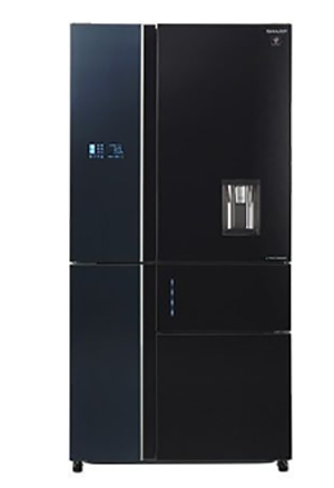 Tủ lạnh Side By Side Sharp SJ-F5X75VGW-BK